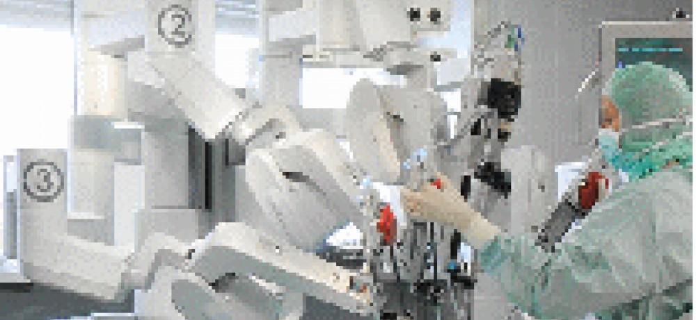 Роботическая простатэктомия при большом объеме простаты...