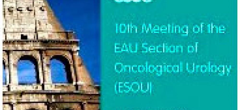 10-й конгресс ESOU в Риме: Решение проблемных вопросов онкоурологии...