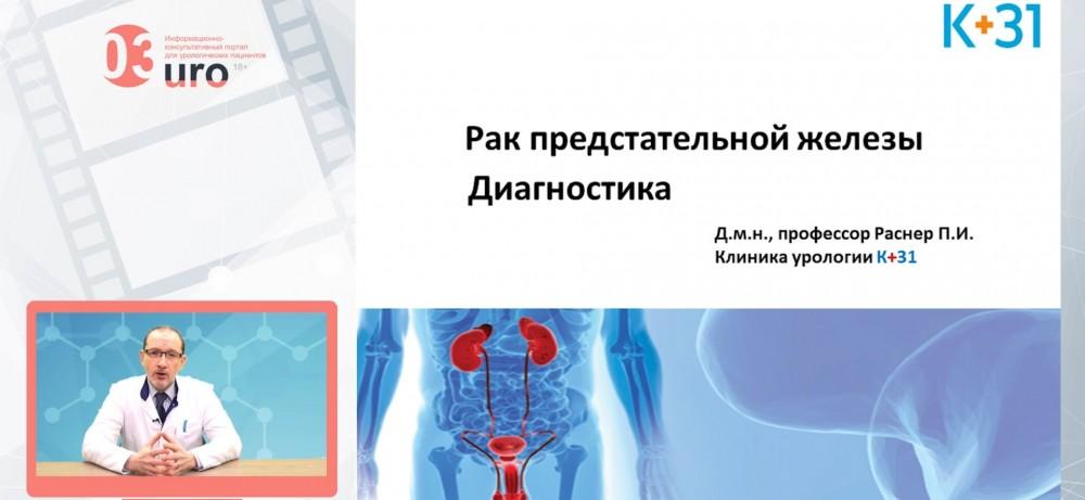 Рак предстательной железы. Диагностика