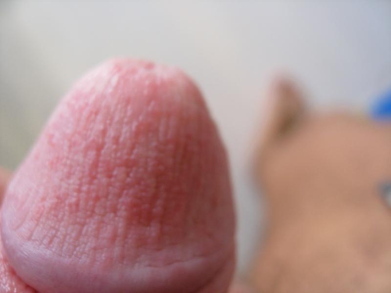 Оральный секс пятна на головке члена